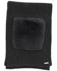 Woolrich - Fur Pocket Scarf - Lyst