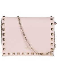Valentino - Garavani Chain Strap Shoulder Bag - Lyst