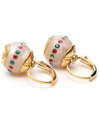 Gucci - Pearl Drop Earrings - Lyst