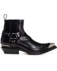 Balenciaga - Santiago Metal Toe Boots - Lyst
