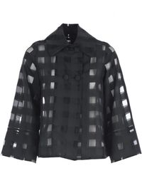 Ultrachic - Checked Jacket - Lyst