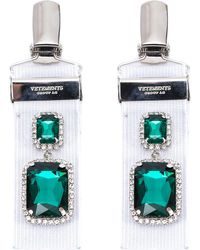Vetements - Clip On Layered Earrings - Lyst