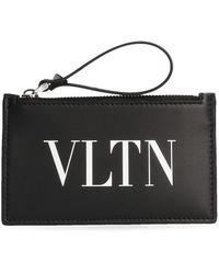 Valentino - Garavani Vltn Card Holder - Lyst