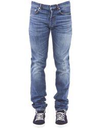 Dior Homme - Dark Wash Denim Jeans - Lyst