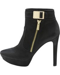 Vince Camuto Black Sultra Bootie - Lyst