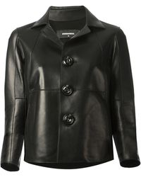 DSquared² Cropped Boxy Jacket - Lyst