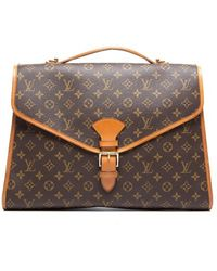 Louis Vuitton Preowned Monogram Canvas Beverly Briefcase Bag - Lyst