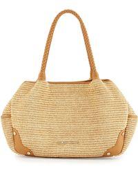 choloe bags - Balenciaga Cable Mani Raffia Basket Tote Bag in Black (BLACK ...