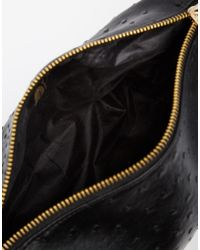 Mi-Pac - Ostrich Black Makeup Bag - Lyst