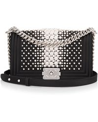 bc7d4cc2da1f Madison Avenue Couture - Limited Edition Chanel Black Pearl Medium Boy Bag  - Lyst