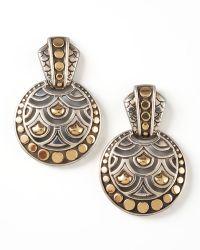 John Hardy Naga Drop Earrings - Lyst