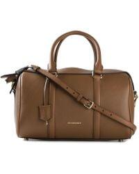 Burberry Alchester Calf-Leather Cross-Body Bag - Lyst