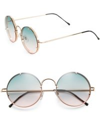 Spitfire - Poolside Round Sunglasses - Lyst