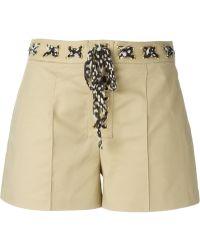 MICHAEL Michael Kors A-Line Shorts - Lyst