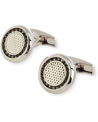 Dunhill Ball-bearing Diamond-pattern Cuff Links - Lyst