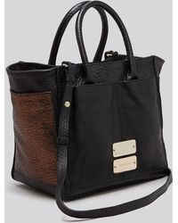 See By Chloé Tote - Nellie Metallic Small Zip Crossbody - Lyst