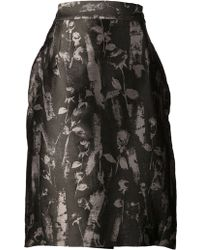 Vivienne Westwood Red Label Print Pencil Skirt - Lyst