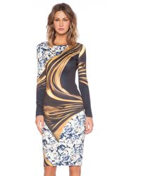 Clover Canyon Corrida De Toros Dress - Lyst