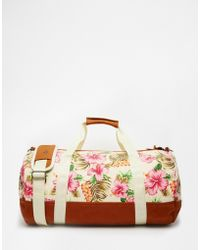 Mi-Pac - Holdall In Tropical Floral Print - Lyst