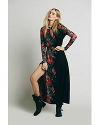 Free People Piece Of Heaven Maxi - Lyst