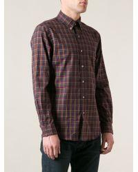 Polo Ralph Lauren Slim Fit Check Print Shirt - Lyst