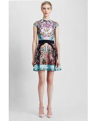 Mary Katrantzou Print Jersey Fit & Flare Dress - Lyst