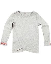 Stella McCartney Gray Willma T-shirt - Lyst