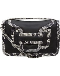 Pierre Hardy Black and White Snake Trim Bag - Lyst