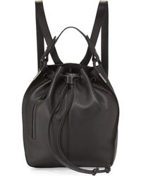 Time's Arrow - Lida Urban Leather Backpack - Lyst
