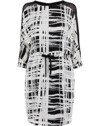 Coast Laura Check Dress - Lyst