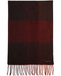 Ted Baker Thick Check Scarf - Lyst
