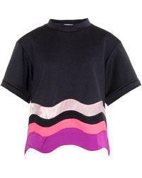 Issa Kelly Colour-Block Wave Top - Lyst