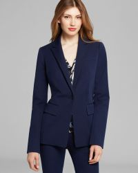 Rachel Roy - Fitted Stretch Twill Blazer - Lyst