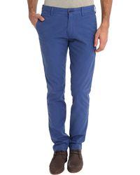 Polo Ralph Lauren Blue Slim-Fit Formal Chinos - Lyst