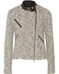Yigal Azrouel Cotton-blend Jacket - Lyst