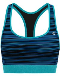 f83d6f71a2 Champion - The Absolute Workout Stripe Sports Bra - Lyst