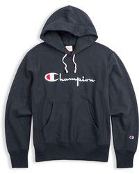 Champion - Europe Premium Reverse Weave® Terry Hoodie - Lyst