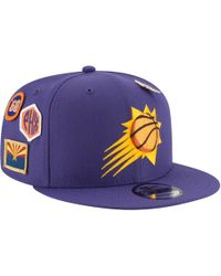 premium selection 3ef8f 2ade5 KTZ Phoenix Suns Vintage Pinstripe 9fifty Snapback Cap in Black for Men -  Lyst