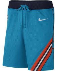 353fbdcec6 Nike - Oklahoma City Thunder Nba Courtside City Edition Shorts - Lyst