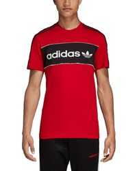3cacee3ee adidas Originals Id96 T-shirt in Blue for Men - Lyst