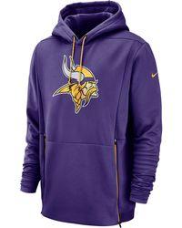 b1ab0c17 Minnesota Vikings Nfl Sideline Player Fleece Hoodie
