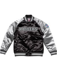 79b89b9c7 Mitchell & Ness Chicago Bulls Concord Colletion Satin Jacket in Black for  Men - Lyst