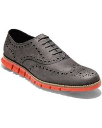 Cole Haan - Zerogrand Wingtip Oxford Mens Shoes - Lyst
