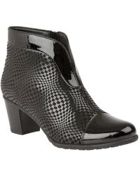 Lotus - Beanie Ankle Boots - Lyst