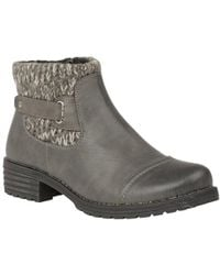Lotus - Ayla Womens Casual Chelsea Boots - Lyst