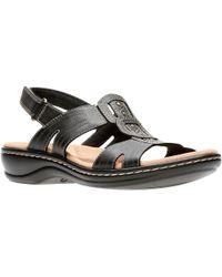 Clarks - Leisa Vine Womens Sandals - Lyst