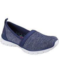 Skechers - Ez Flex 3.0 Swift Motion Womens Shoes Women's Slip-ons (shoes) In Blue - Lyst