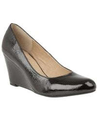 Lotus - Blaise Womens Wedge Heel Court Shoes - Lyst