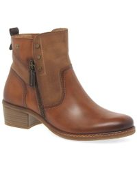 Pikolinos - Zaragoza Womens Leather Zip Ankle Boots - Lyst
