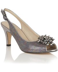 Lotus - Clematis Womens Peep Toe Dress Shoes - Lyst